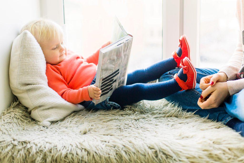 petite fille lire
