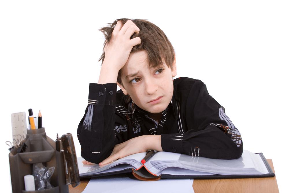 enfant en difficulté scolaire