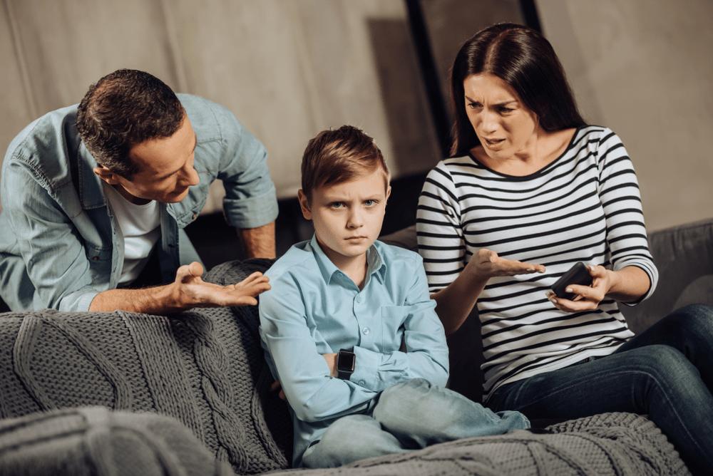 la démission des parents