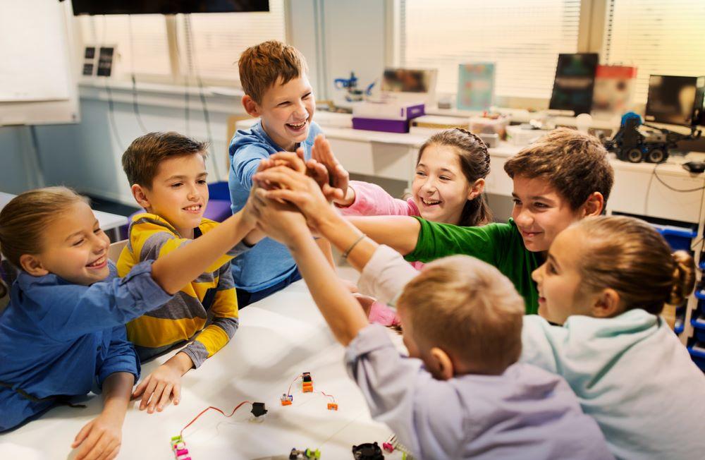 la vie de la classe institutrice