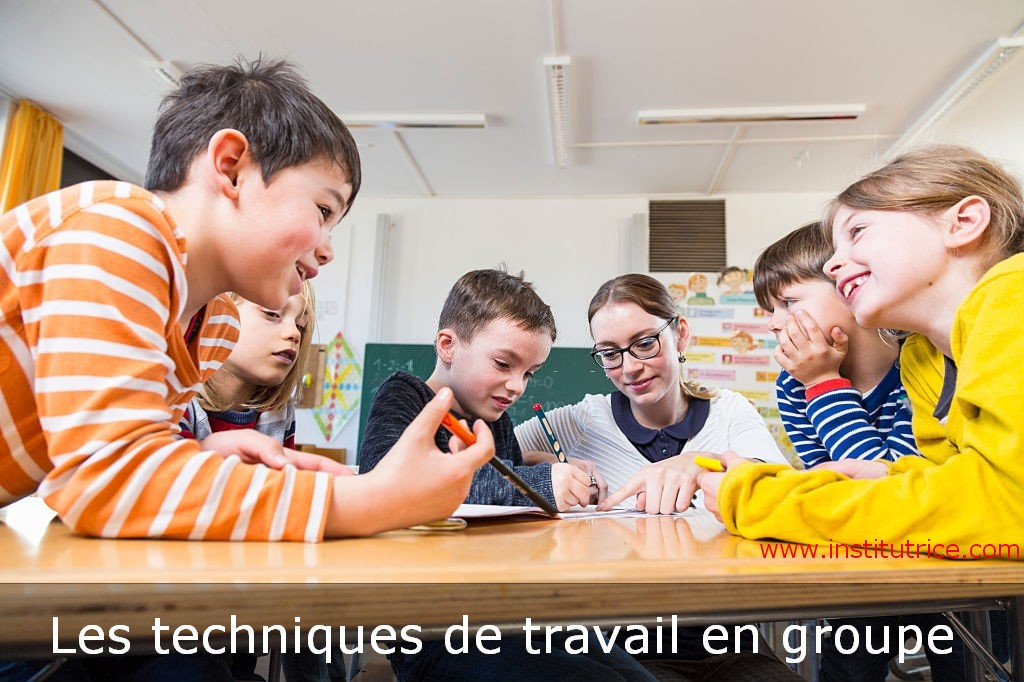 les techniques de travail en groupe institutrice