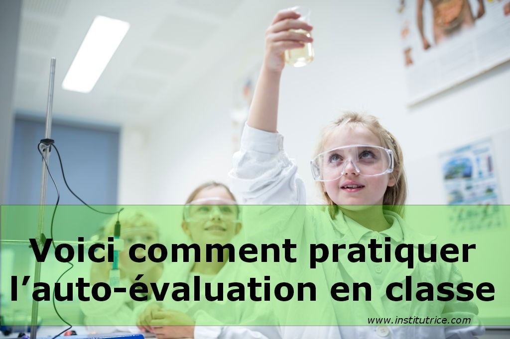 l'auto-évaluation en classe france