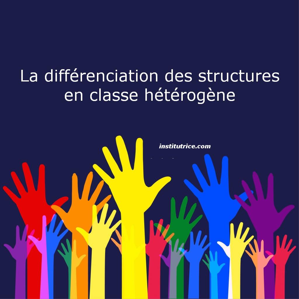 structures en classe hétérogène