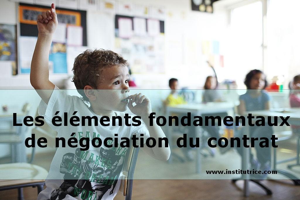 négociation du contrat pedagogique