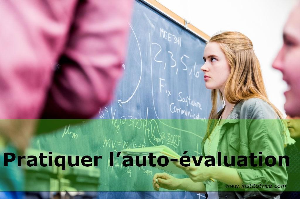 pratiquer l'auto-évaluation sans professeur