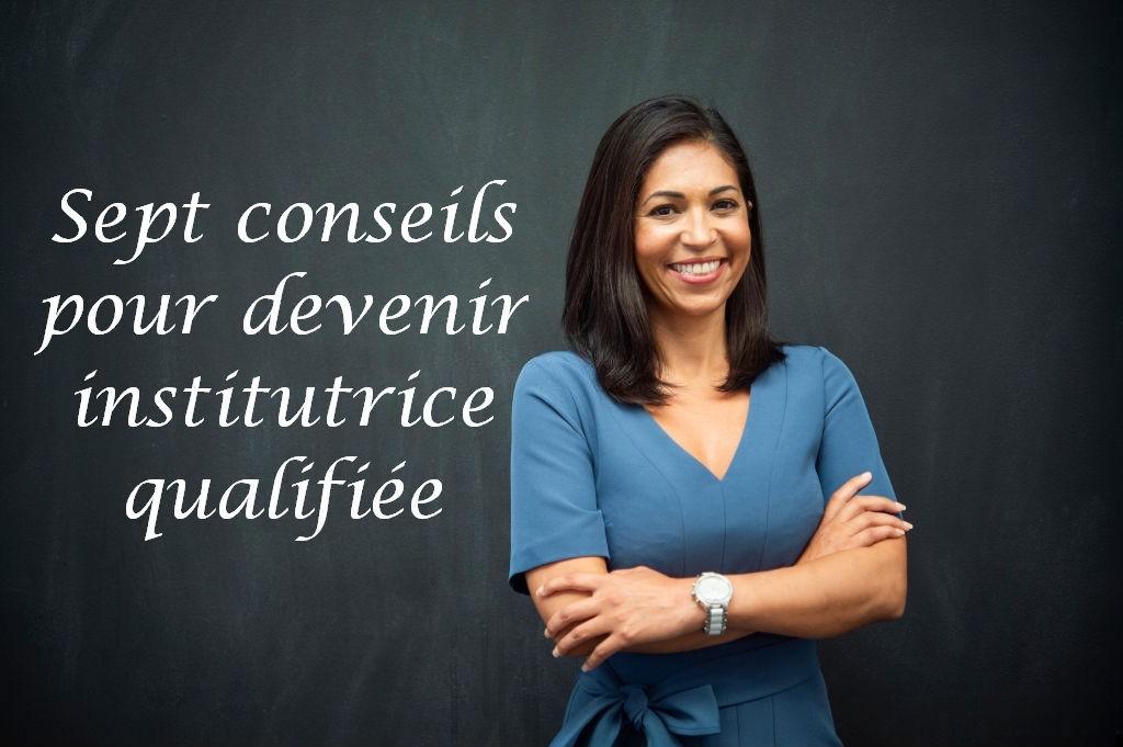pour devenir institutrice qualifiée