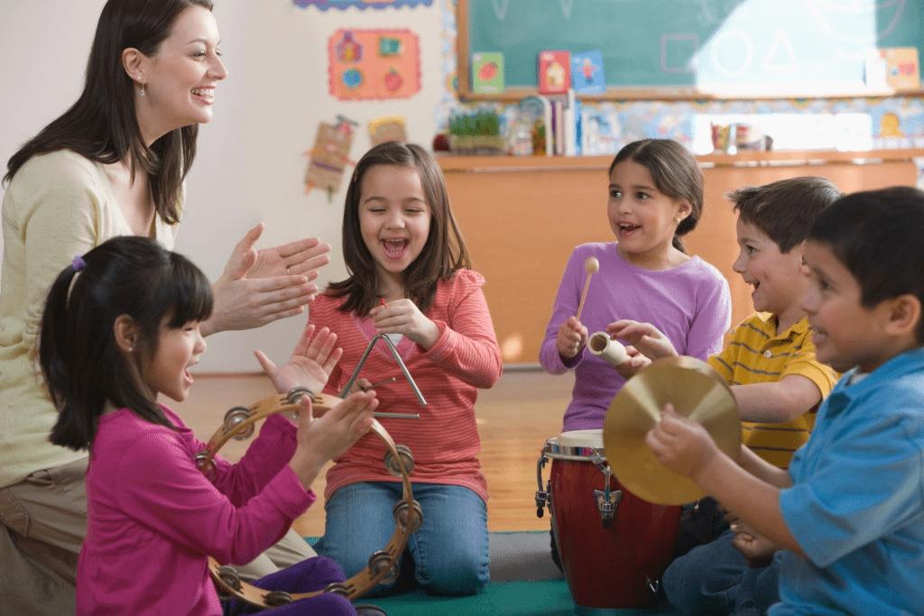 Compétences musicales chez l'enfant