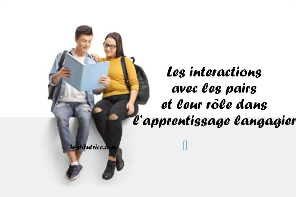 interactions avec les pairs
