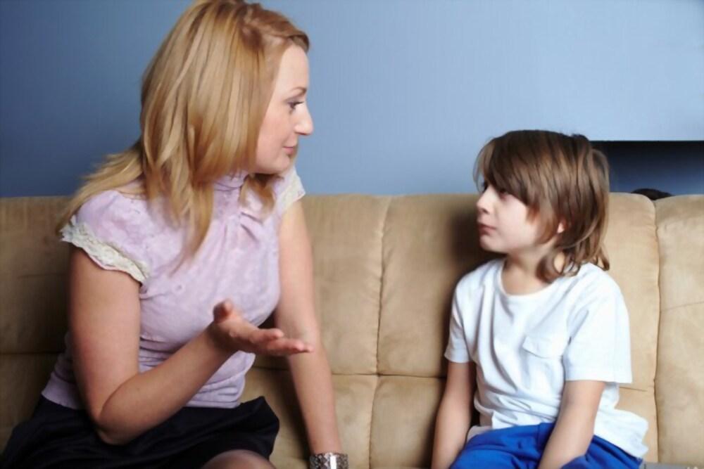 langue avec enfant