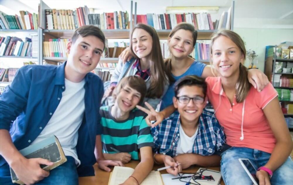 adolescents en développement