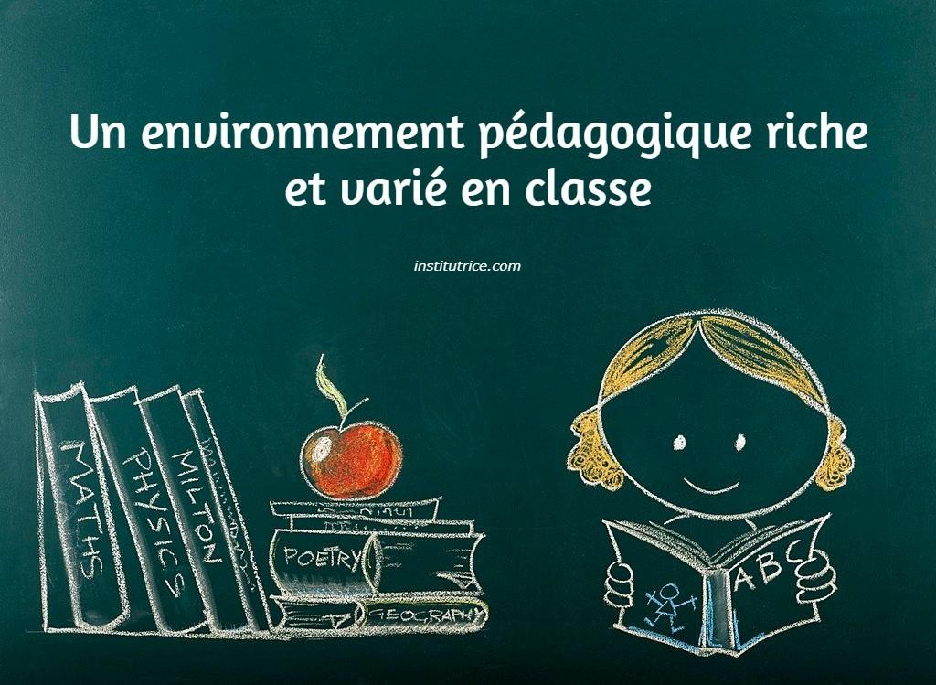 environnement en classe