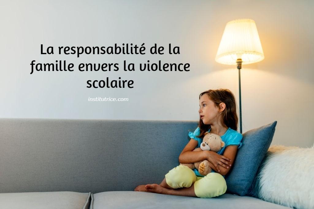 La responsabilite de la famille